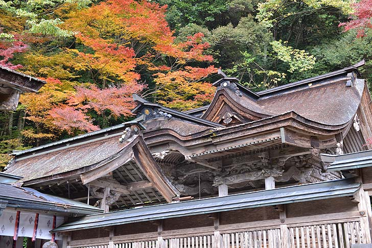 大矢田神社の本殿