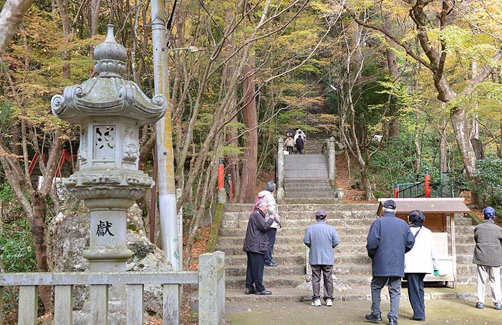 大矢田神社の階段