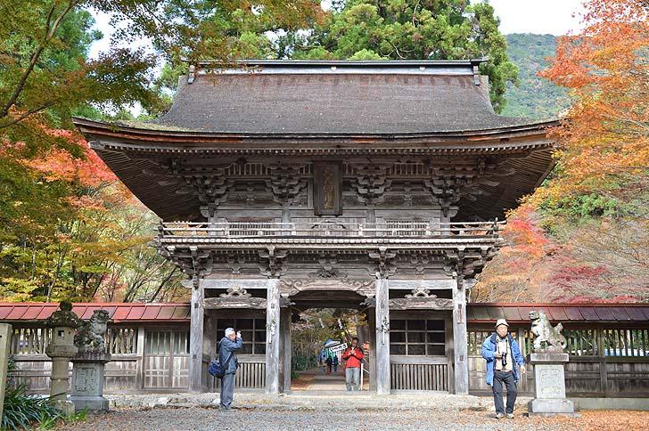大矢田神社の楼門