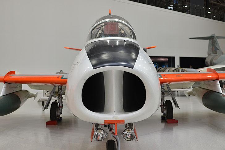 岐阜かかみがはら航空宇宙博物館の飛行機