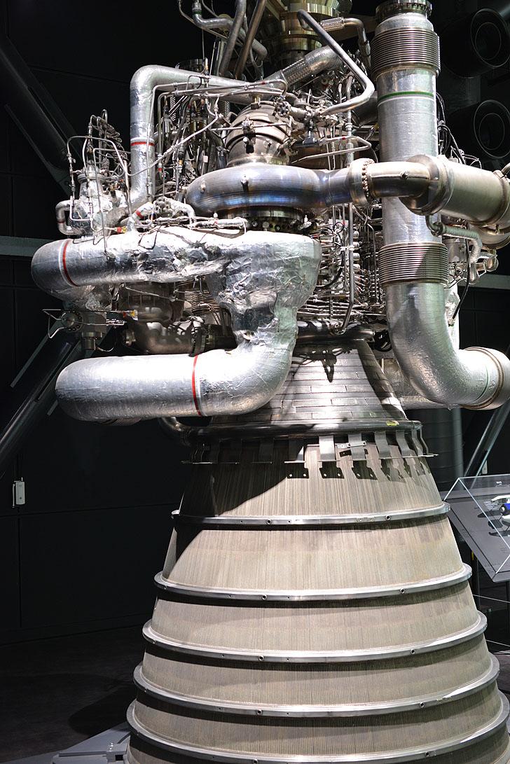 岐阜かかみがはら航空宇宙博物館のロケット