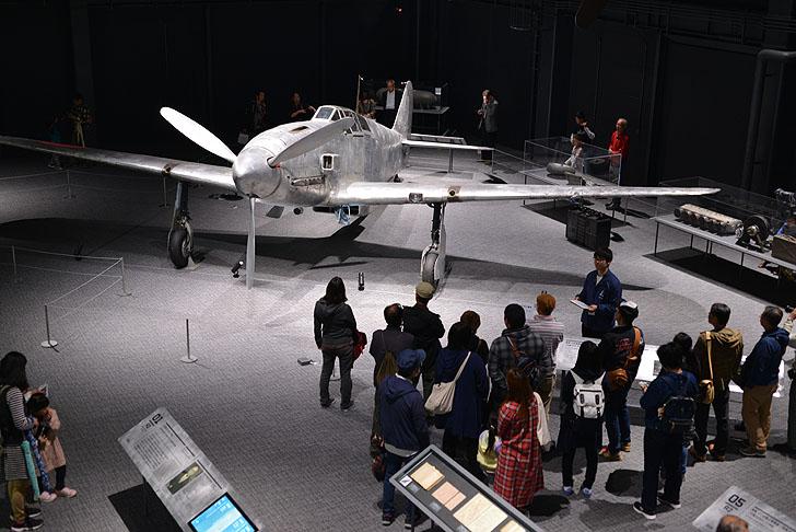 岐阜かかみがはら航空宇宙博物館の飛燕