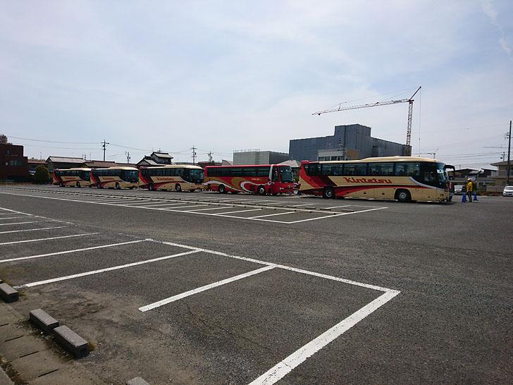ぎふ清流ハーフマラソンの送迎バス
