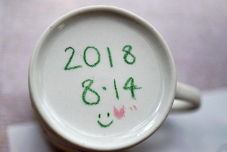 手作りマグカップ体験