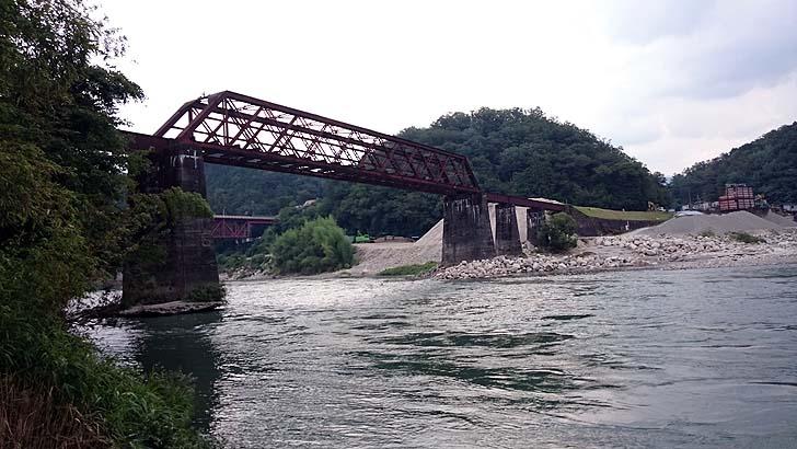 木曽川に架かる奇跡の橋
